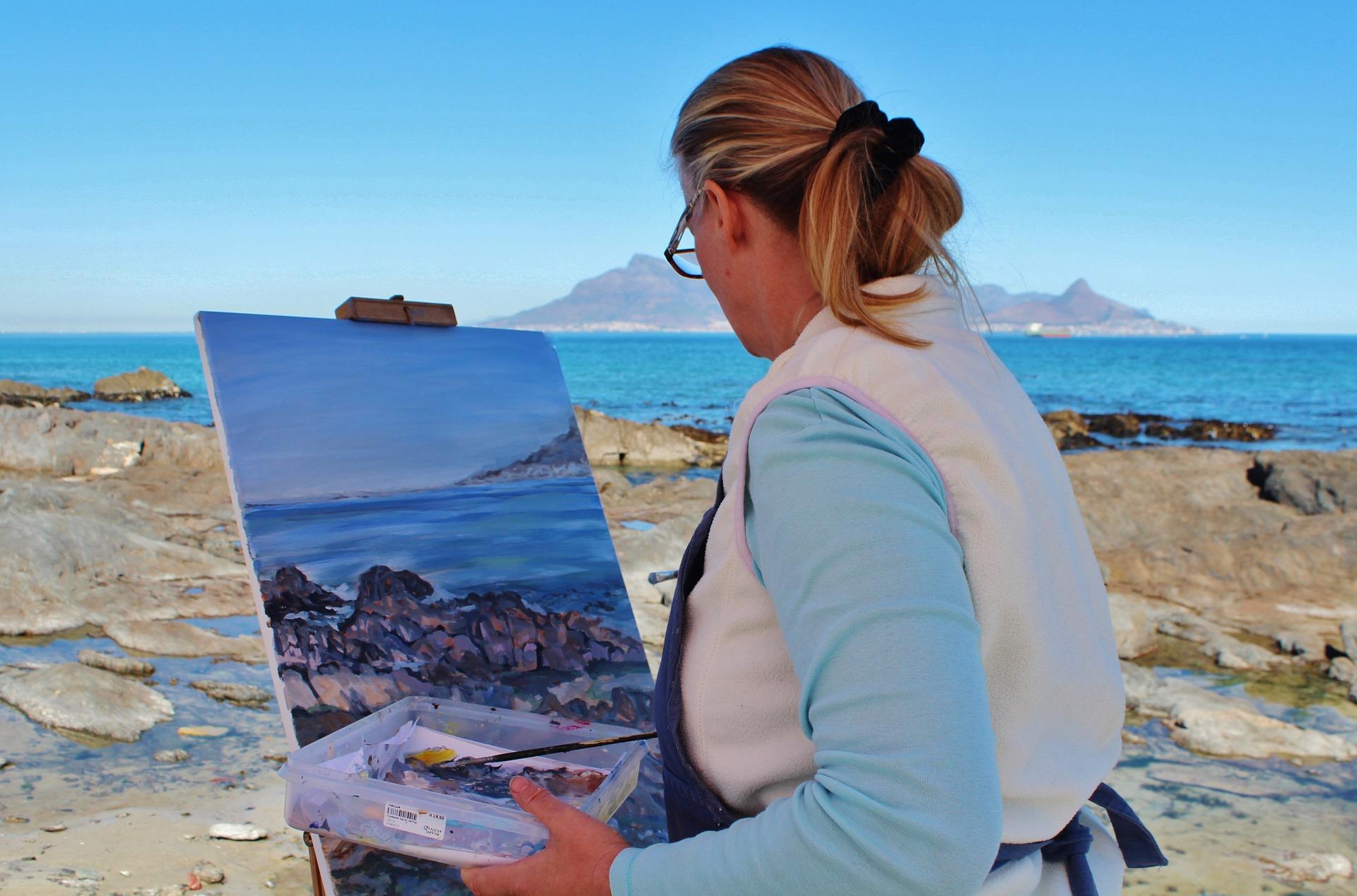 油絵の具の使い方や塗り方、混ぜ方を画家が簡単解説!