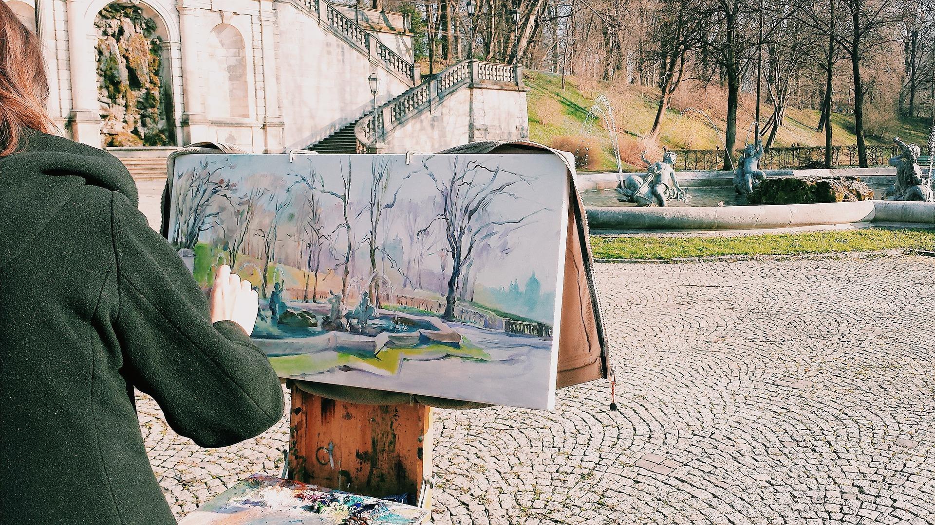 画家や絵描きとして生活するには本業にしない方がうまくいく訳とは?